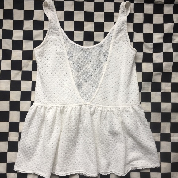 Lucca Couture Tops - White tank